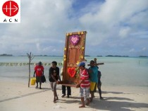 "Bringing the ""Holy Door"" to the isolated people of the periphery parishes of Gizo Diocese – ""Year of Mercy"", Year 2015-2016"