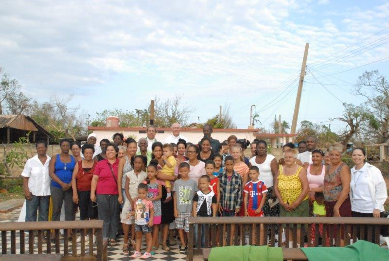 Emergency aid for the purchase of 6,500 tales of zinc als emergency aid after the Irma hurracan