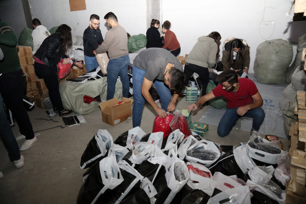 15000 Christmas gifts for IDP´s children from  Nineveh plain and Mossul