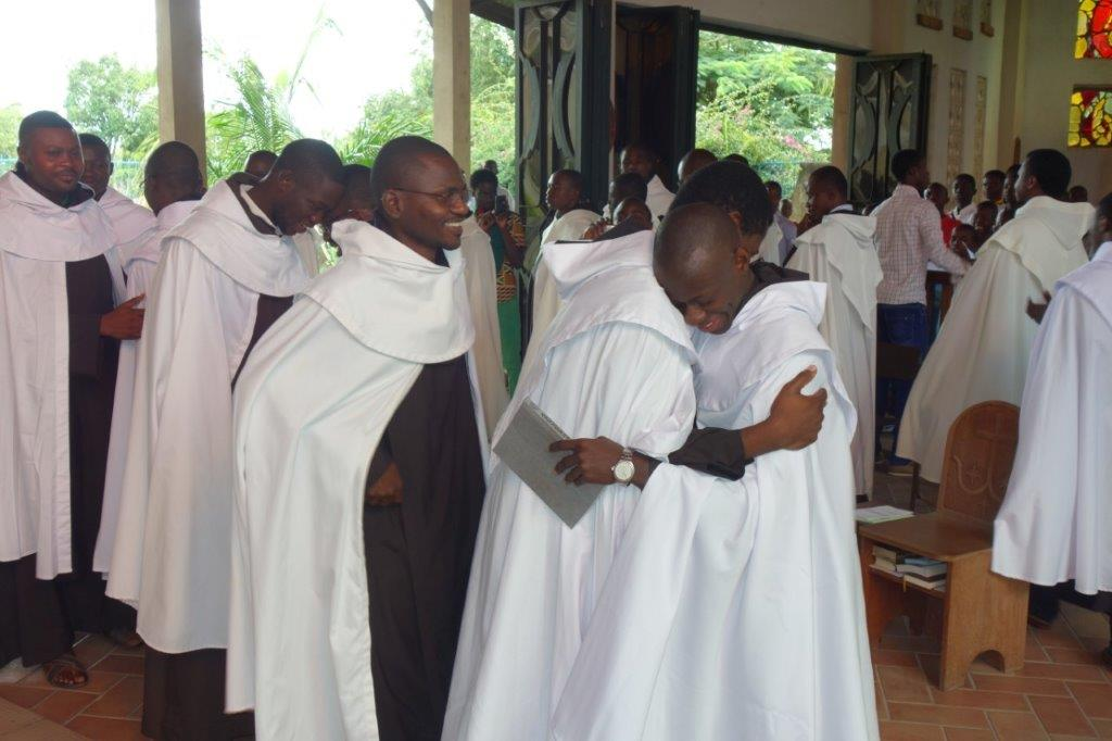 Formation of 39 Carmelite brothers OCD from Central African Republic and Cameroon in Bangui, Yaounde and Bouar