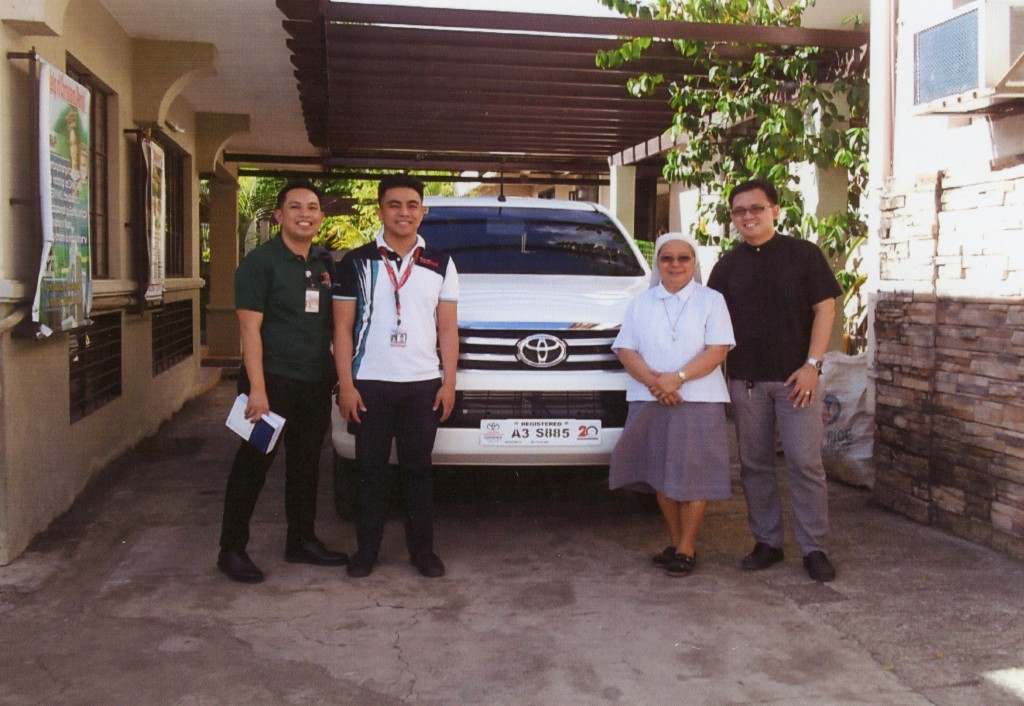 Vehicle for the Diocesan Commission on indigenous people