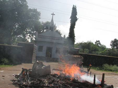 Violence against Christians in the Archdiocese of Cuttack-Bhubaneshwar District Kandhamal