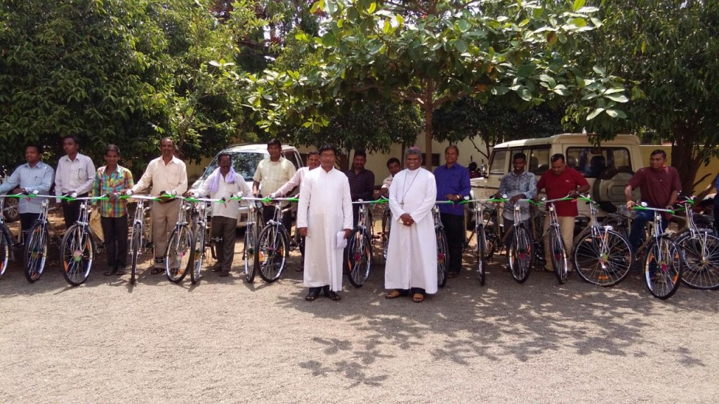 Purchase of 30 Bicycles for the Touring Spiritual Animators