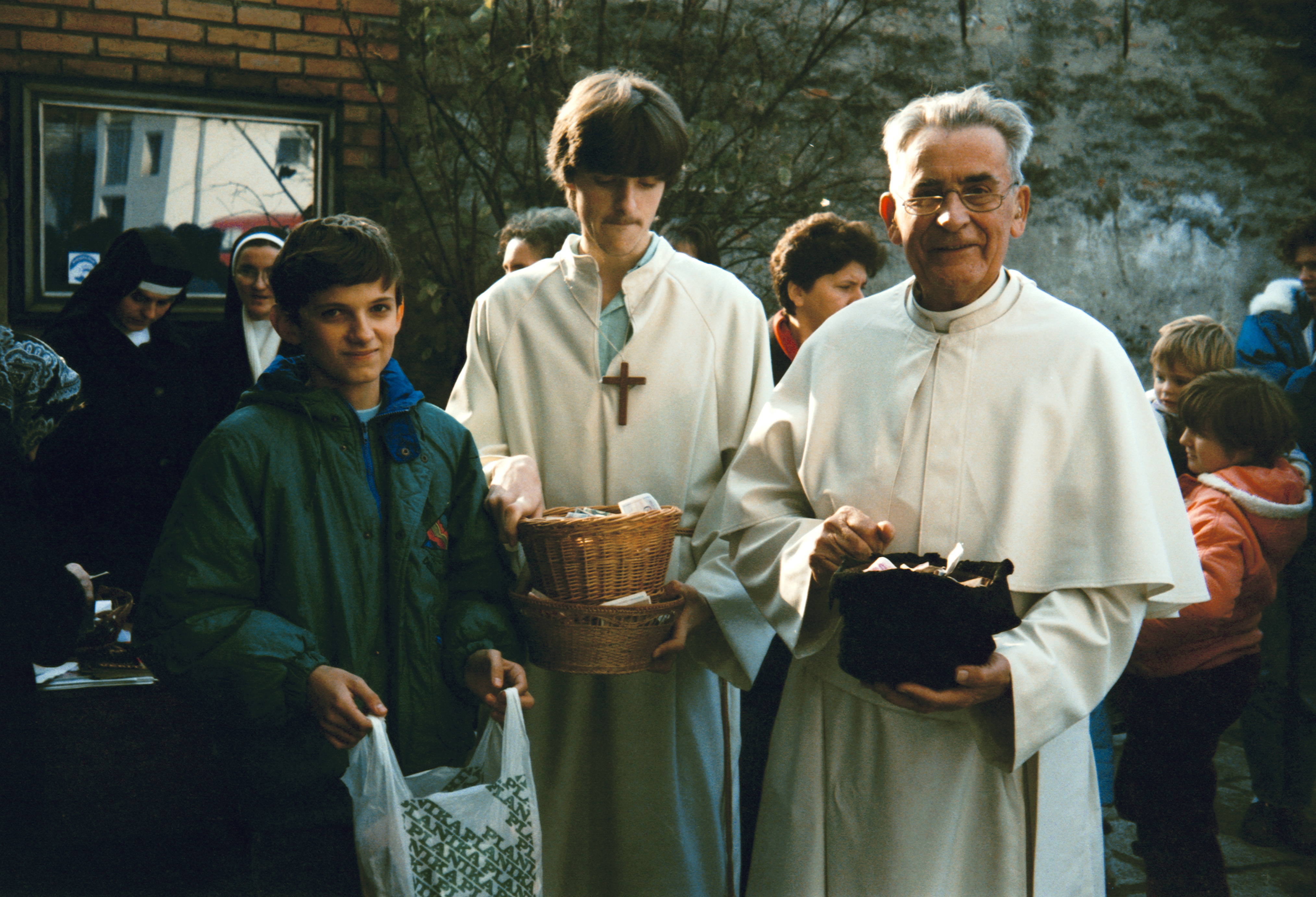 Trip of Father Werenfried and Stanko Cecelja