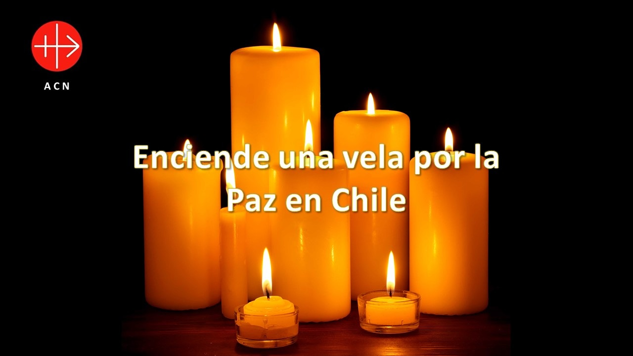 enciende una vela por la paz