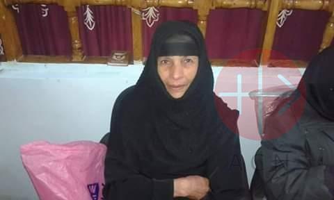 Egipto madre de dos de los martires de Libia