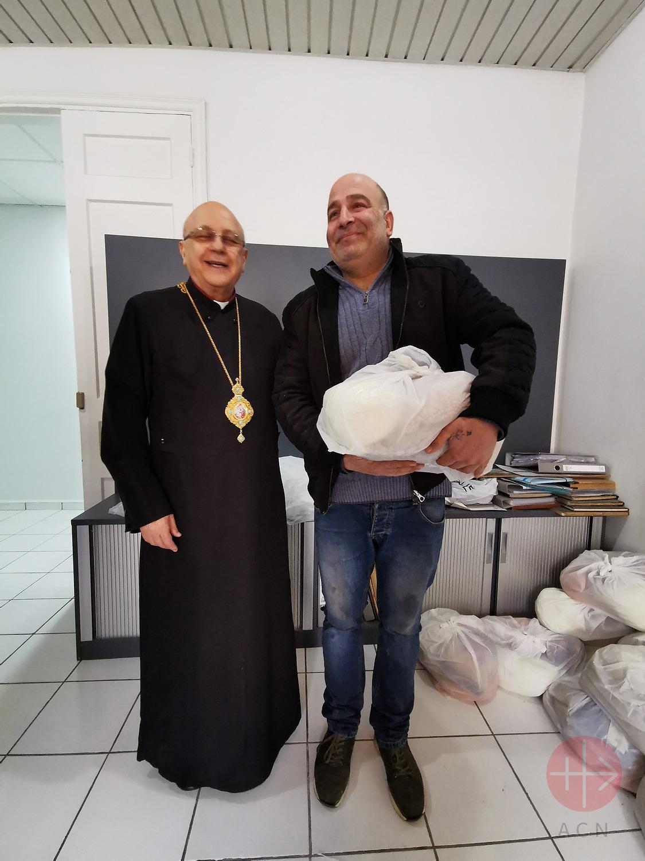 Libano entrega de comida