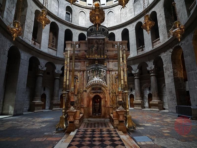 tierra santa basilica del sto sepulcro web