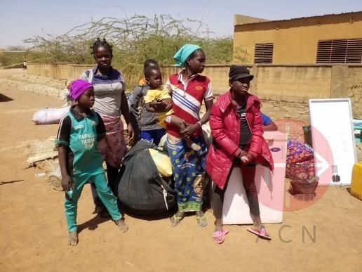 Burkina Faso familias de catequistas de Dori