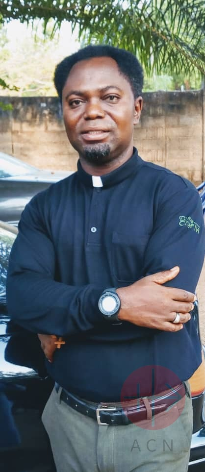 Nigeria Father Samuel Aseer Aluga, is a Via Christi Society