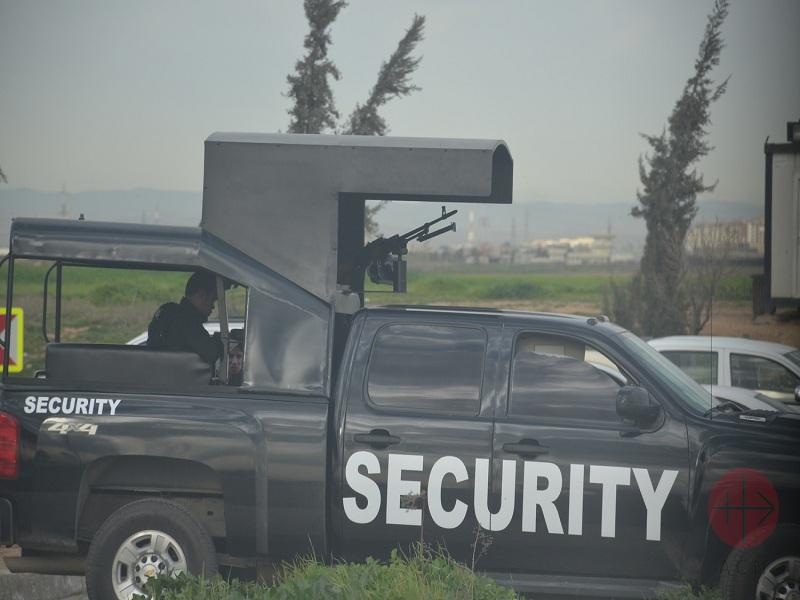 Irak camioneta de seguridad web