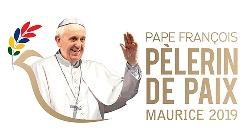 Mauricio logo visital papal