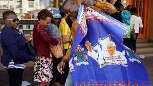 Mozambique genero con Papa