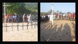Mozambique peregrinacion al santuario maria reina de los martires