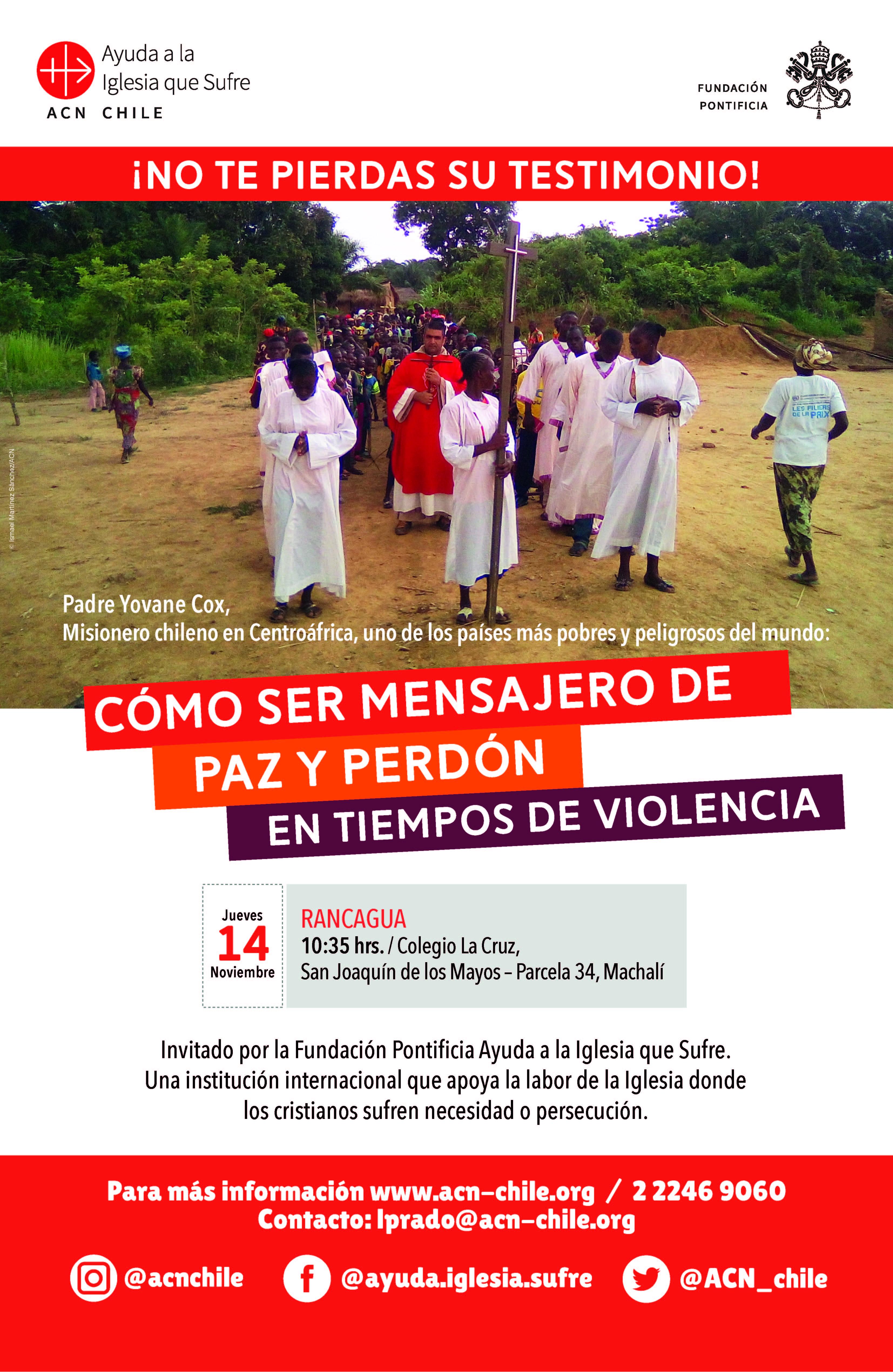 afiche PADRE YOVANE RANCAGUA-01