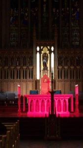 canada toronto iglesia en rojo