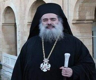 Jerusalen arzobispo Atallah Hanna