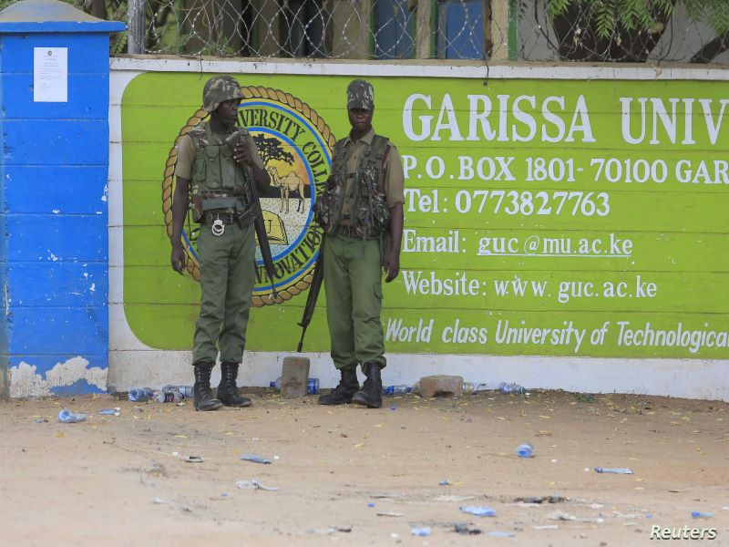 Kenia Garissa universidad para web