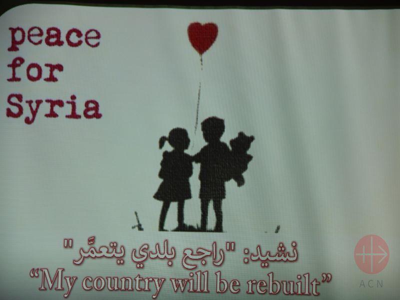 Siria flyer paz para siria para web