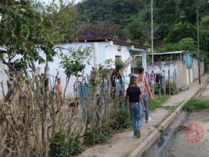 Venezuela calle de pueblo en San Felipe padre Angel para web