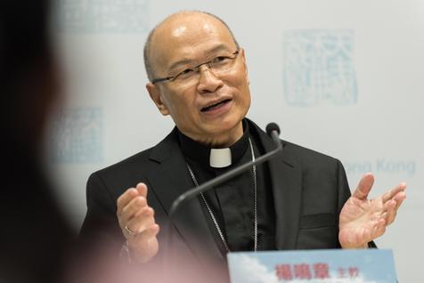 China cardenal John Tong