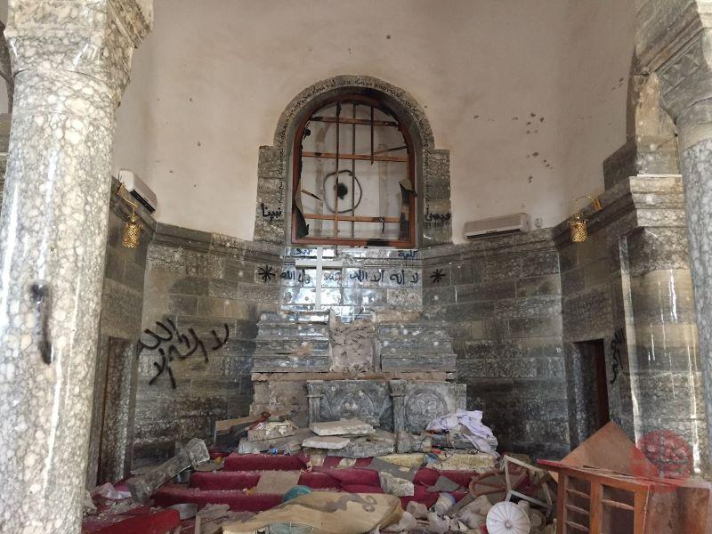 Irak iglesia de san kirikos en Batnaya para web