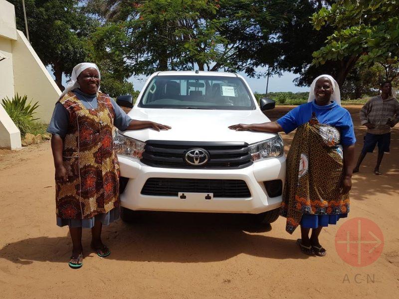 Mozambique auto para la pastoral para web