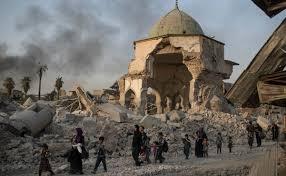 irak mezquita de al nuri en mosul