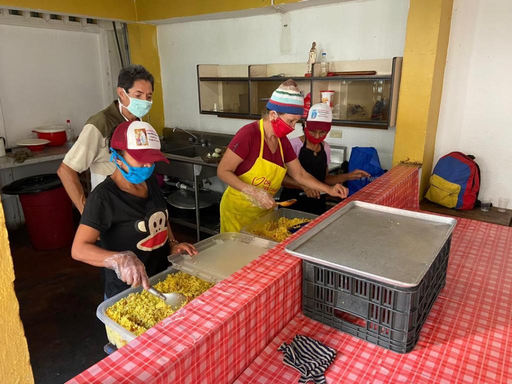 Venezuela: Comida para los más necesitados en tiempos de Coronavirus.