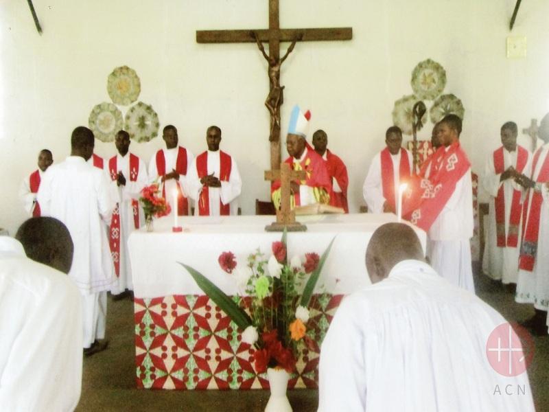 Congo seminario de san cipriano misa web