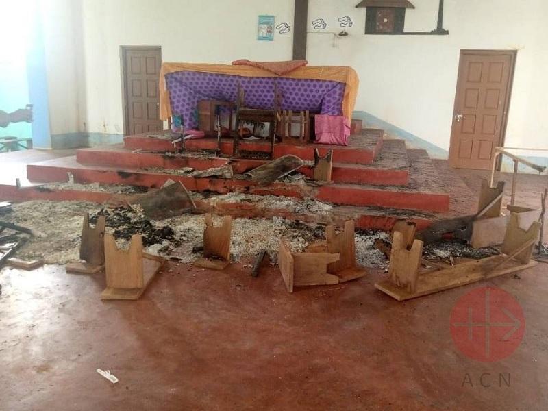 Mozambique ataque a iglesia web