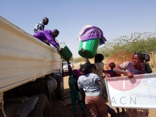 Burkina Faso Dori fam catequistas