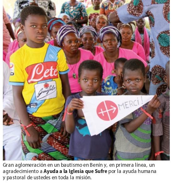Agradecimiento Benin
