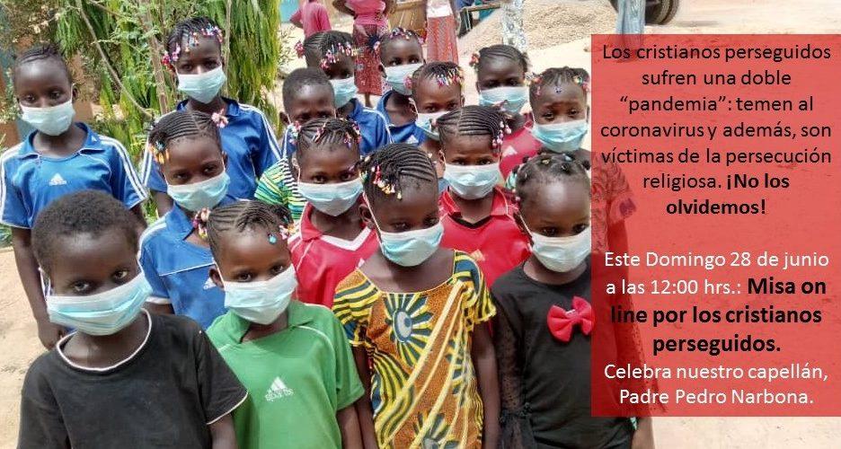 Semana de Oración por las víctimas del coronavirus y por quienes sufren una doble pandemia: el temor a contagiarse y la persecución religiosa