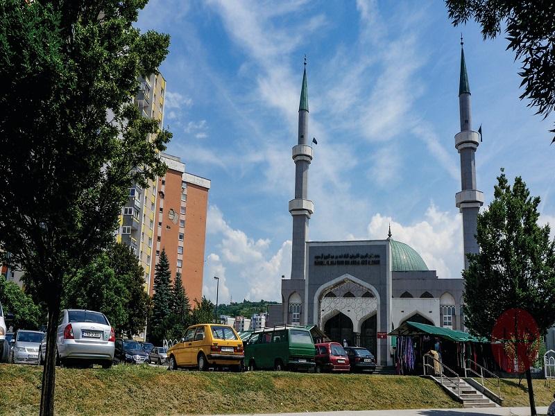 Bosnia Herzegovina mezquita de Sarajevo web