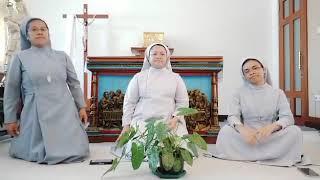 Indonesia tres religiosas cantan por la tolerancia