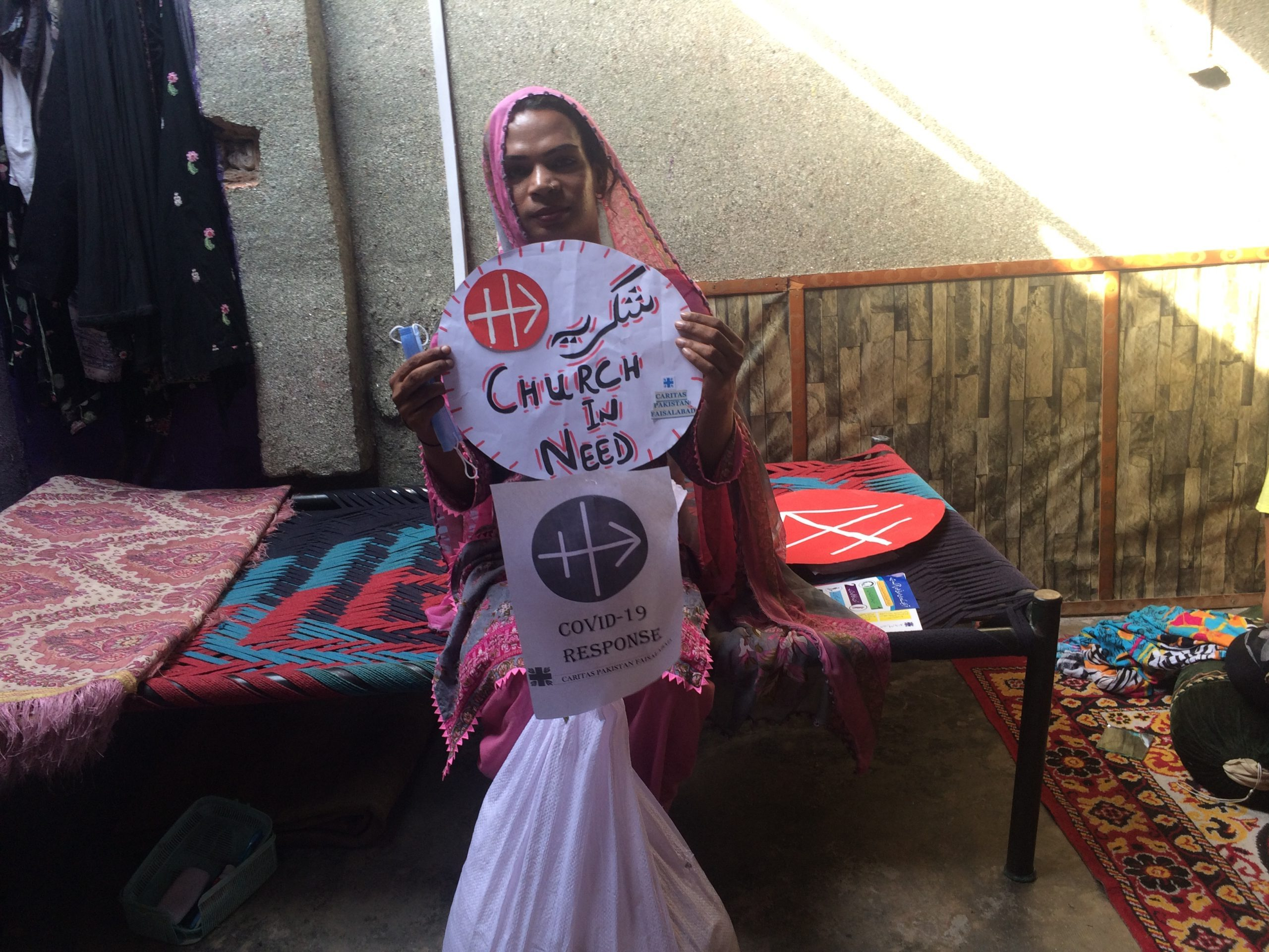 Un salvavidas para los más necesitados en Pakistán