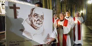 Jacques Hamel misa de homenaje