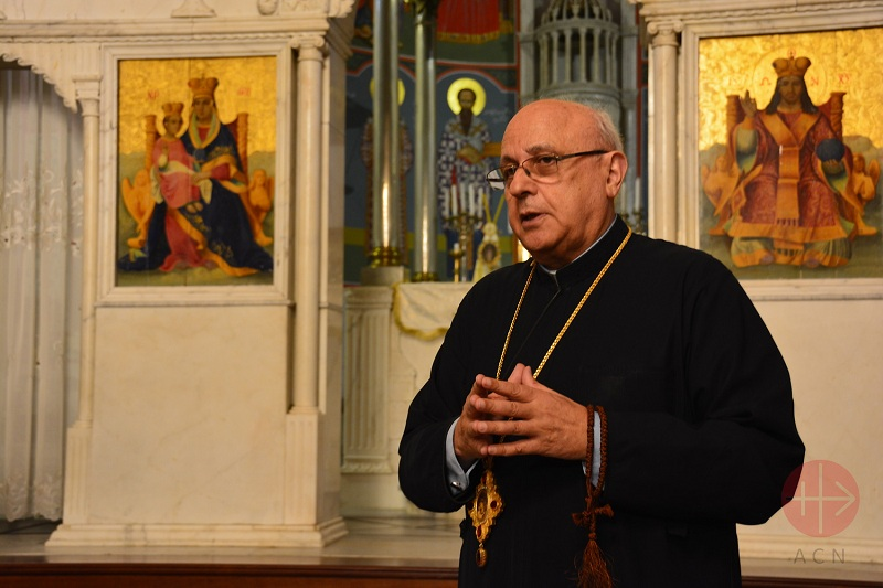 Líbano Greek Melkite Archbishop Issam John Darwish of the Eparchy of Zahle, Furzol and the Bekaa. web