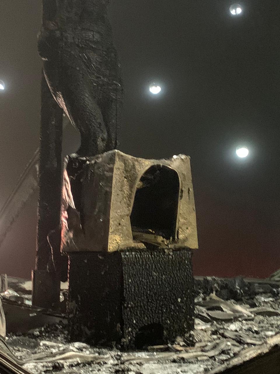 Nicaragua Cristo quemado pies