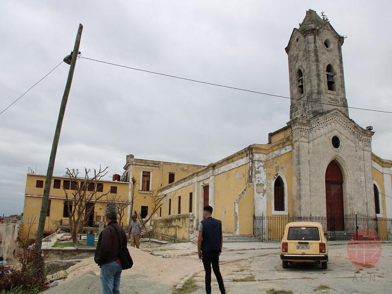 Cuba Iglesia del Buen Pastor de Jesús del Monte destruida por tornado web