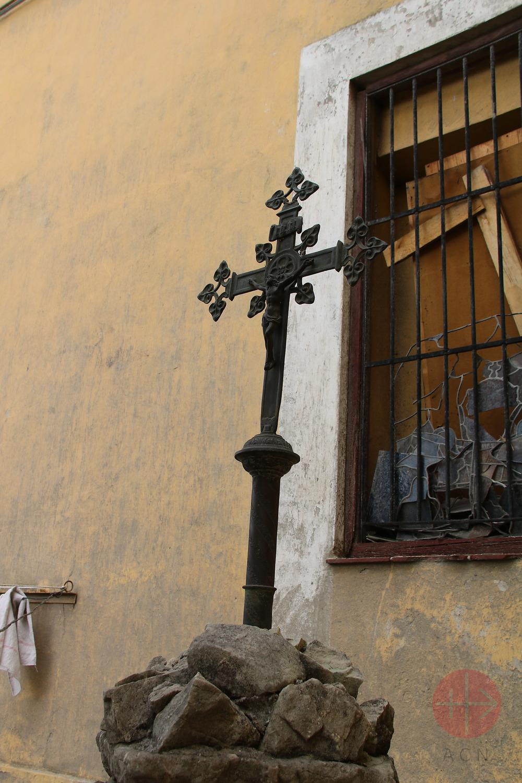 Cuba cruz del convento de los mercedarios