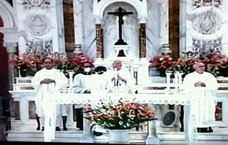 Cuba misa de la Virgen de la Caridad por tv