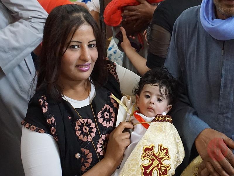 Egipto madre con su hijo bautizado web