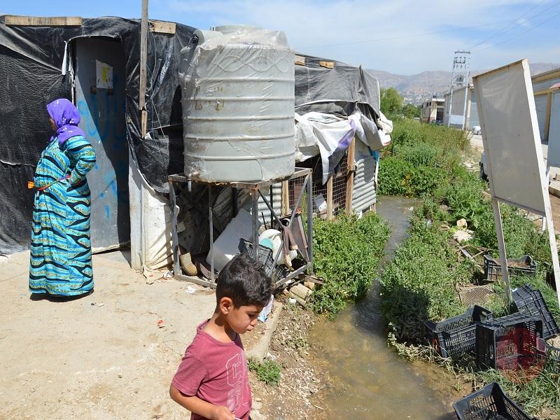 Líbano campamento de emergencia web