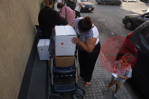 Líbano distribución de cajas 2