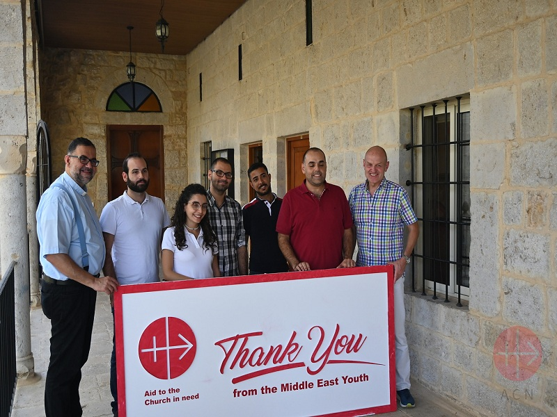 Líbano encuentro de RB con jóvenes web