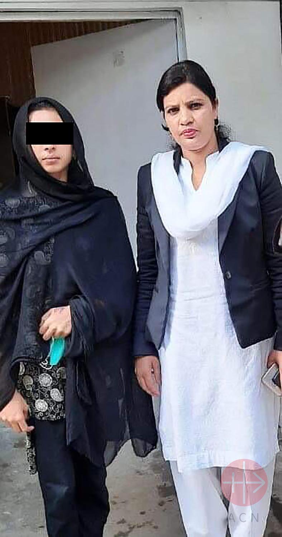 Abogada de Maira Shabhaz expresa su preocupación por la vida de la niña y su familia.