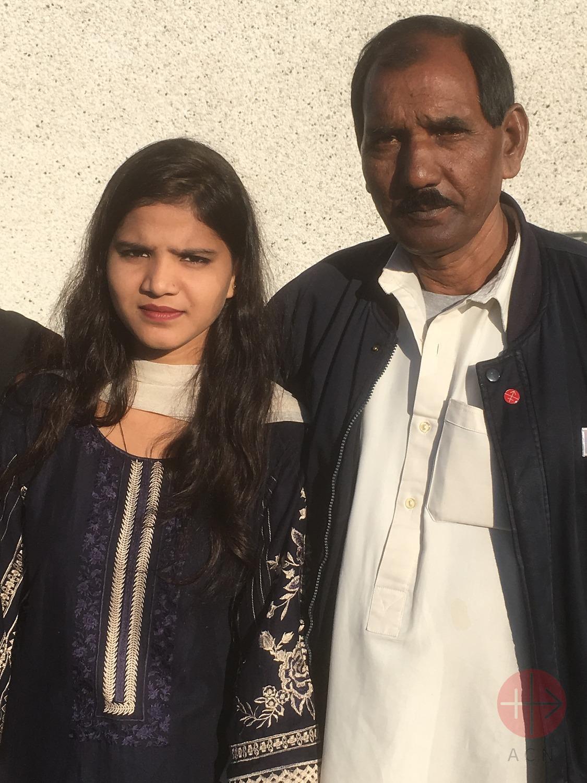 Pakistán hija y marido de Asia Bibi