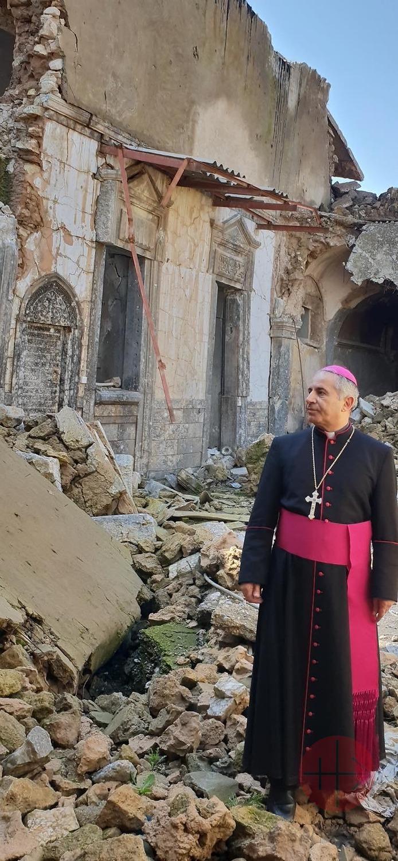 Irak arzobispo Najeeb Michaeel